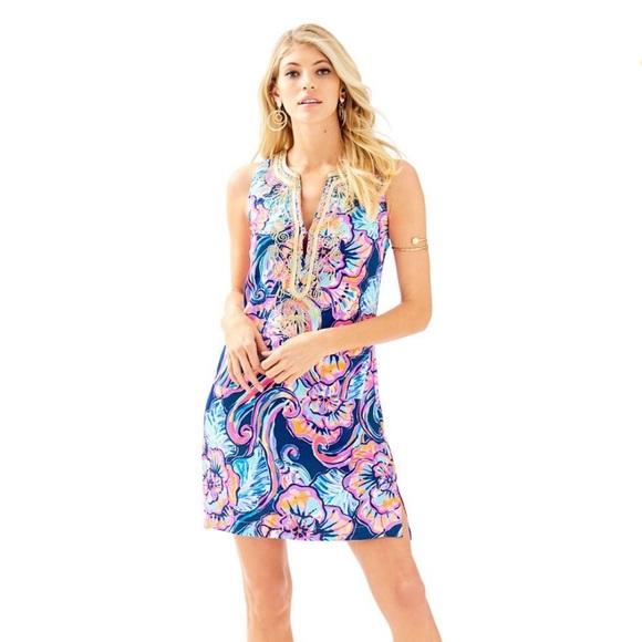 dbd76eeec79a Lilly Pulitzer Dresses | Nwt Carlotta Stretch Shift | Poshmark